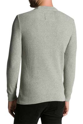 Superdry Knits & Sweaters Crew Neck Pullovers Street Style Long Sleeves Plain Cotton 4