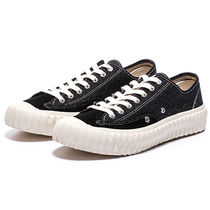 EXCELSIOR Round Toe Rubber Sole Casual Style Unisex Street Style Plain