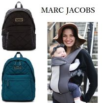 Marc by Marc Jacobs Casual Style Nylon A4 Plain Backpacks