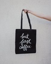 Alfred coffee Casual Style Plain Totes