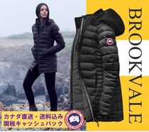 CANADA GOOSE BROOKVALE Plain Medium Down Jackets