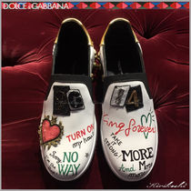 Dolce & Gabbana Leather Loafers & Slip-ons