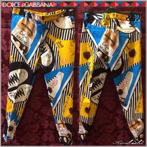 Dolce & Gabbana Printed Pants Patterned Pants