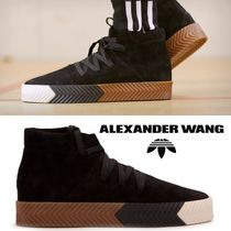 Alexander Wang Suede Collaboration Sneakers