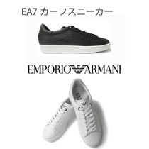 EMPORIO ARMANI Plain Leather Loafers & Slip-ons