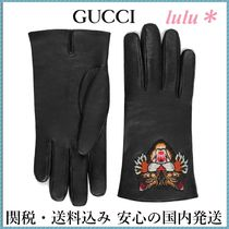 GUCCI Other Animal Patterns Leather Leather & Faux Leather Gloves