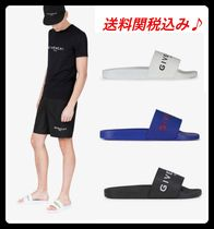 GIVENCHY Street Style Plain Shower Shoes Shower Sandals