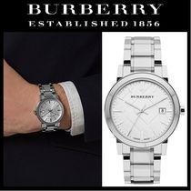 Burberry Unisex Street Style Quartz Watches Analog Watches