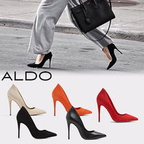 ALDO Leather Pin Heels Pointed Toe Pumps & Mules