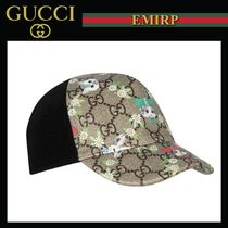 GUCCI Unisex Street Style Collaboration Baby Girl Accessories
