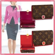 Louis Vuitton MONOGRAM Flore Compact Wallet