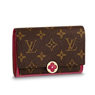 Louis Vuitton Folding Wallets Monogram Canvas Blended Fabrics Studded Bi-color 3