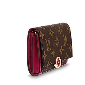 Louis Vuitton Folding Wallets Monogram Canvas Blended Fabrics Studded Bi-color 4