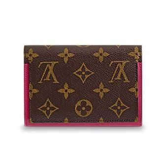 Louis Vuitton Folding Wallets Monogram Canvas Blended Fabrics Studded Bi-color 7