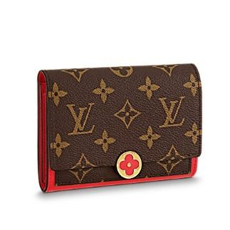 Louis Vuitton Folding Wallets Monogram Canvas Blended Fabrics Studded Bi-color 8