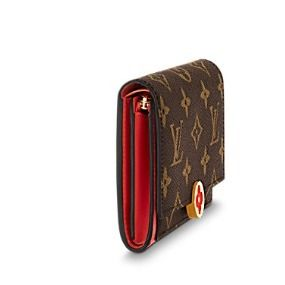 Louis Vuitton Folding Wallets Monogram Canvas Blended Fabrics Studded Bi-color 9