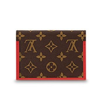 Louis Vuitton Folding Wallets Monogram Canvas Blended Fabrics Studded Bi-color 11