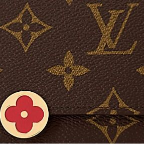 Louis Vuitton Folding Wallets Monogram Canvas Blended Fabrics Studded Bi-color 12