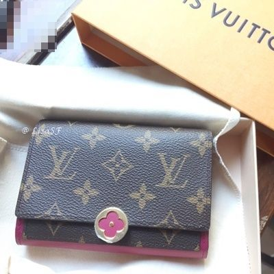 Louis Vuitton Folding Wallets Flore Compact Wallet 2