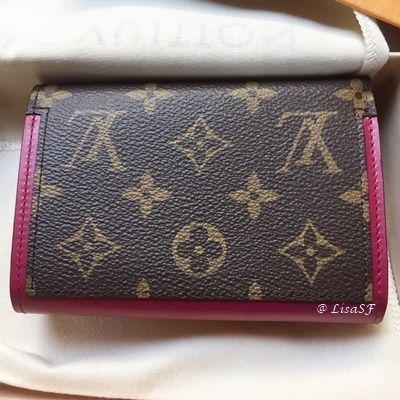 Louis Vuitton Folding Wallets Monogram Canvas Blended Fabrics Studded Bi-color 6