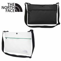 THE NORTH FACE Flower Patterns Unisex Plain Messenger & Shoulder Bags