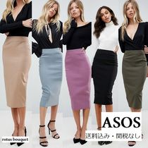 ASOS Pencil Skirts Plain Long Office Style Maxi Skirts