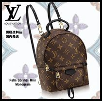 Louis Vuitton MONOGRAM Casual Style Unisex Blended Fabrics 2WAY Special Edition