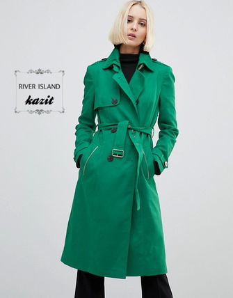 Casual Style Trench Coats
