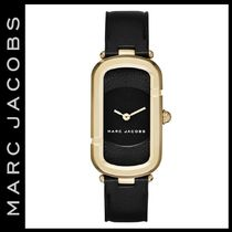 Marc by Marc Jacobs Unisex Square Quartz Watches Stainless Elegant Style