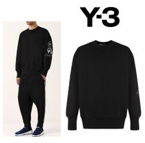 Y-3 Street Style Long Sleeves Cotton Oversized