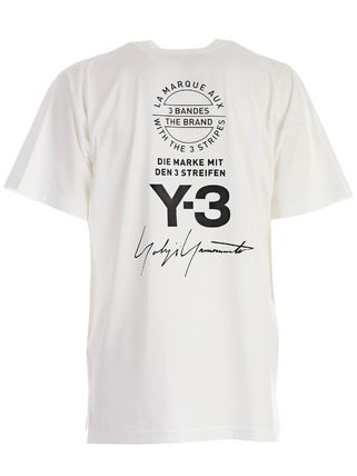 Y-3 Crew Neck Crew Neck Unisex Street Style Cotton Short Sleeves Oversized 2
