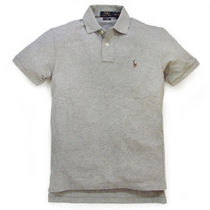 Ralph Lauren Pullovers Plain Cotton Short Sleeves Polos