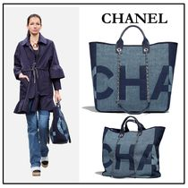 CHANEL A4 2WAY Elegant Style Totes