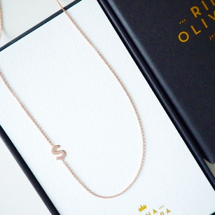 Casual Style Initial Handmade Silver Necklaces & Pendants