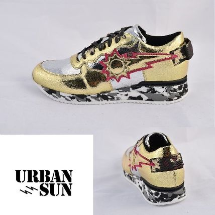 Star Camouflage Unisex Street Style Sneakers