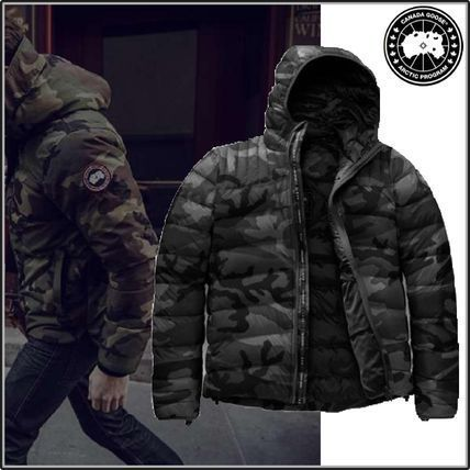 Camouflage Street Style Down Jackets