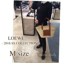 LOEWE Casual Style 2WAY Straw Bags