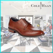 Cole Haan Plain Leather U Tips Oxfords