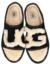 UGG Australia Open Toe Casual Style Fur Shoes