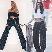 I.AM.GIA Stripes Long Elegant Style Pants