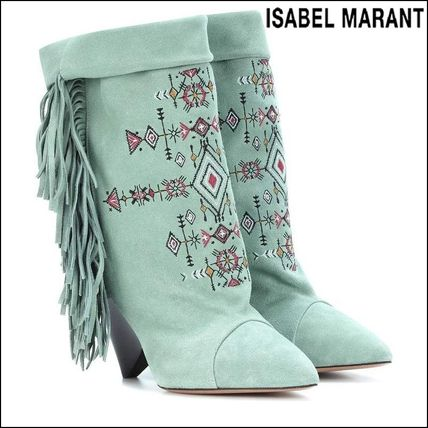 Bi-color Party Style High Heel Boots
