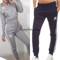 adidas Casual Style Street Style Cotton Long Pants