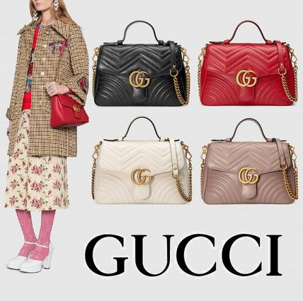 Gucci Handbags A4 Leather 14