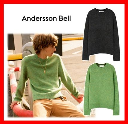 Casual Style Unisex Street Style Sweaters
