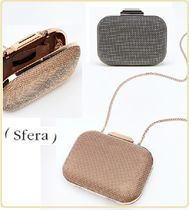 Sfera 2WAY Chain Plain Party Style Clutches