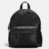 Coach Campus BagPack Casual Style Plain Leather Backpacks