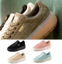 PUMA SUEDE Unisex Street Style Low-Top Sneakers