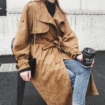 Stand Collar Coats Trench Coats