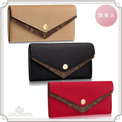 9d1696d802e6 ... Louis Vuitton Long Wallets 18SS PORTEFEUILLE DOUBLE V WALLET BI-COLOR  LONG WALLET ...