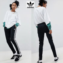adidas Casual Style Street Style Plain Long Sarouel Pants